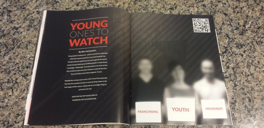 1851 Magazine: Young Ones To Watch