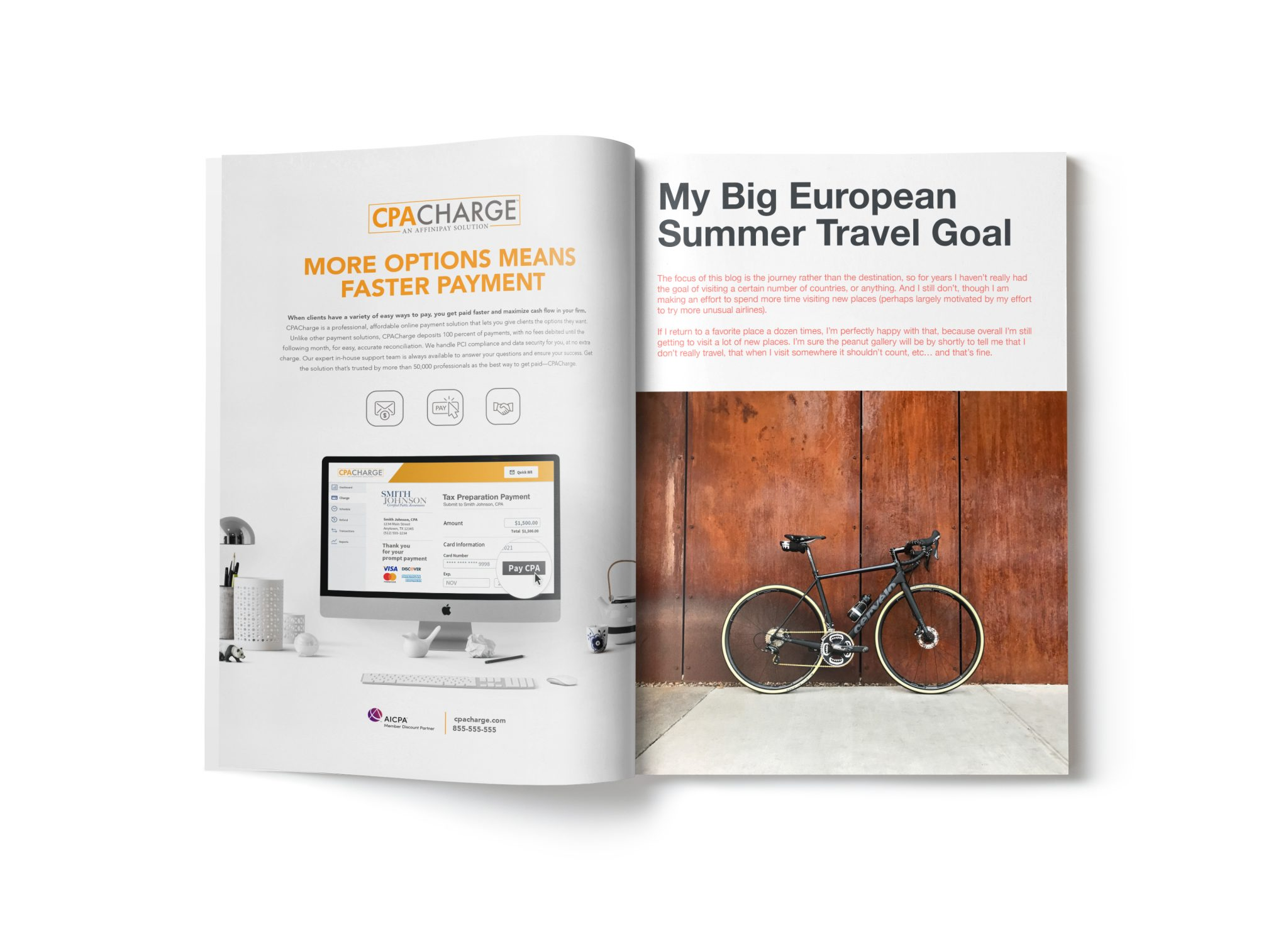CPACharge Magazine Ads